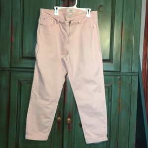 Vintage America Women's Cropped Jeans